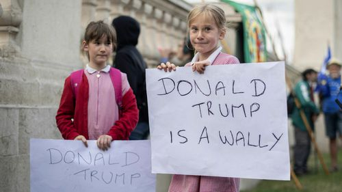 Some young Londoners share their thoughts on the US President.