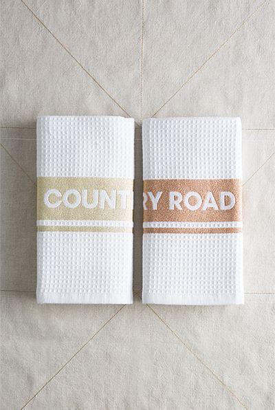 "Pop metallic tea towels $14.95, <a href=""https://www.countryroad.com.au/shop/home"" target=""_blank"">Country Road</a>"