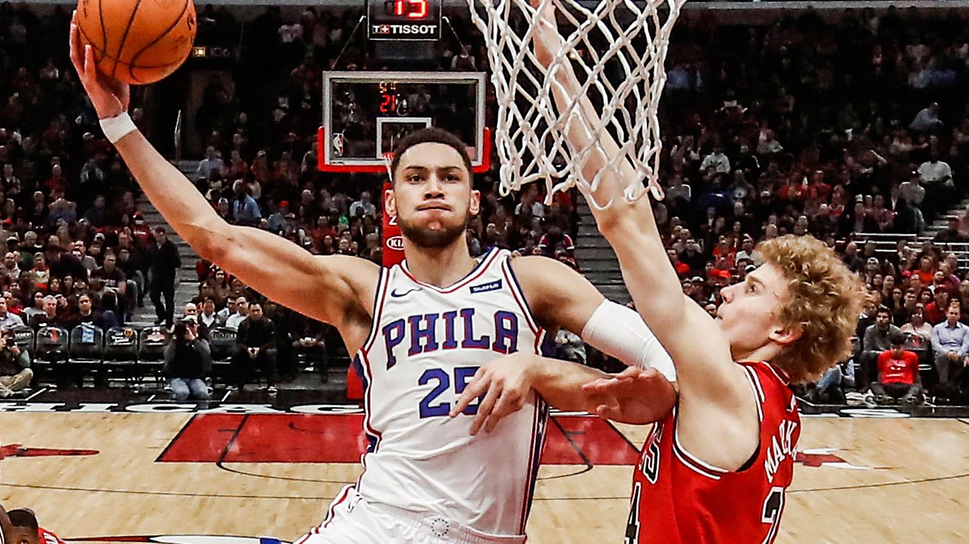 NBA: Ben Simmons cores game-winning free throw to get Philadelphia 76ers win against Chicago Bulls