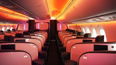 Inside Virgin Atlantic's lavish 'Upper Class' Dreamliner