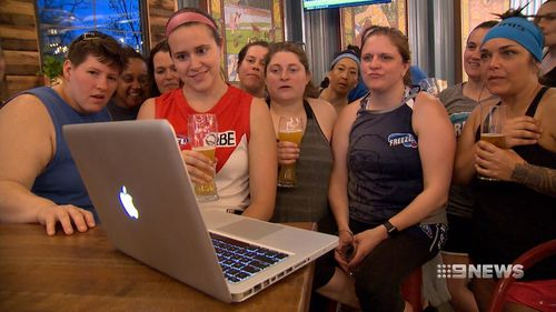 It's fair to say not everyone in the Twin cities or America understands the game, the ladies say it's regularly confused with rugby.