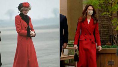 Kate Middleton evokes Princess Diana