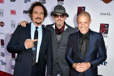 Tommy Flanagan, Kim Coates and Theo Rossi clean up well.