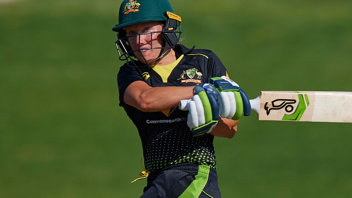 Alyssa Healy scored the fastest T20 century by an Australian.