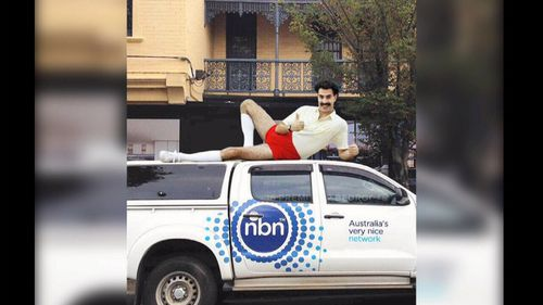 Australia's internet speeds are ranked close to Kazakhstan's - a Central Asian country parodied by the Sacha Baron Cohen character Borat.
