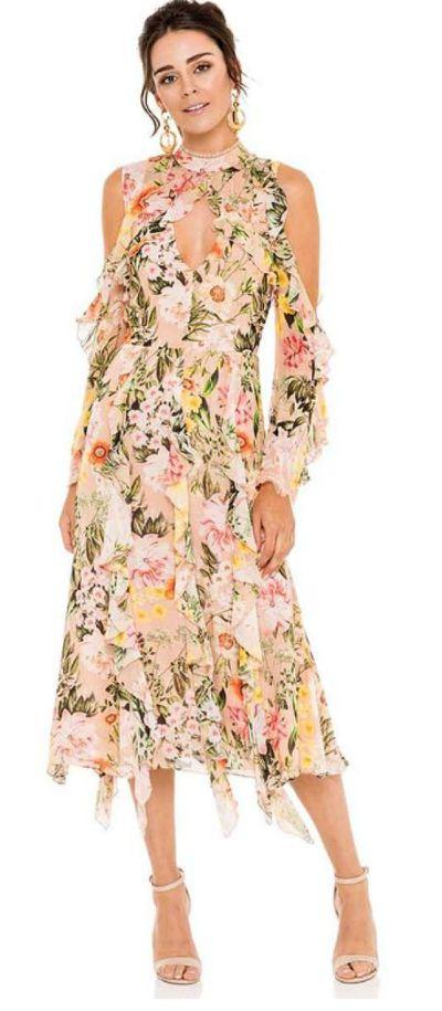 "<p><a href=""https://herwardrobe.com.au/collections/wedding/products/nicholas-aveline-vertical-ruffle-midi-dress"">NICHOLAS Aveline Vertical Ruffle Midi Dress</a></p> <p>Rental $179</p> <p>Retail $695</p>"