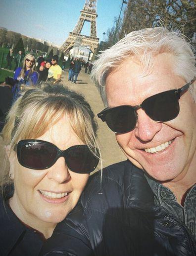 Phillip Schofield and wife Stephanie Lowe.