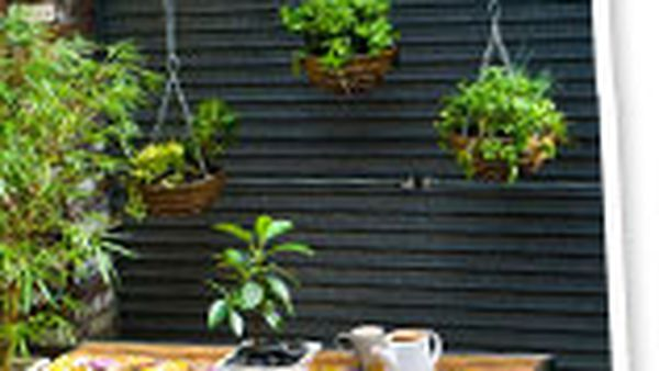Make: a beam to hang your pots