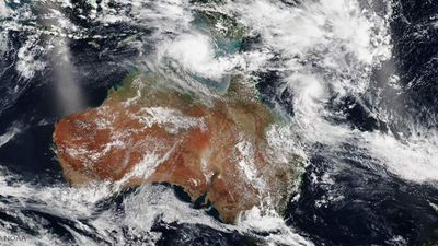 Tropical cyclone Marcia was first upgraded to a category two early yesterday afternoon, before quickly moving to a three and then a four last night. Satellite photos from the US's National Oceanic and Atmospheric Administration show the size of the cyclones.