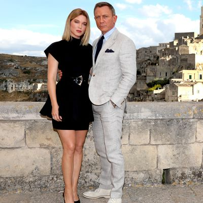 Léa Seydoux (pictured here with Daniel Craig)
