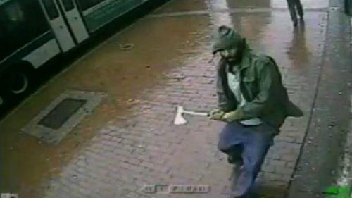 New York police hatchet attack a 'terrorist act'