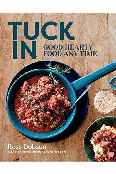 "<p><a href=""https://www.murdochbooks.com.au/browse/books/cooking-food-drink/general-cookery-recipes/Tuck-In-Ross-Dobson-9781743368619"" target=""_top"">Tuck In - Good Hearty Food Any Time</a>, by Ross Dobson, AUD $39.99</p> <p>For the dad who wants to have a go-to book of  mid-week meals, a family roast recipes to rely on, or an international on-trend creation.&nbsp;</p>"