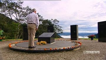 Malcolm Turnbull marks 75 years since Kokoda