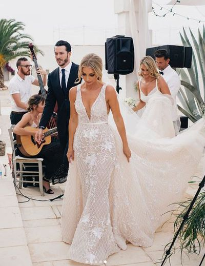 All the details from Anna Heinrich and Tim Robard's Italian wedding