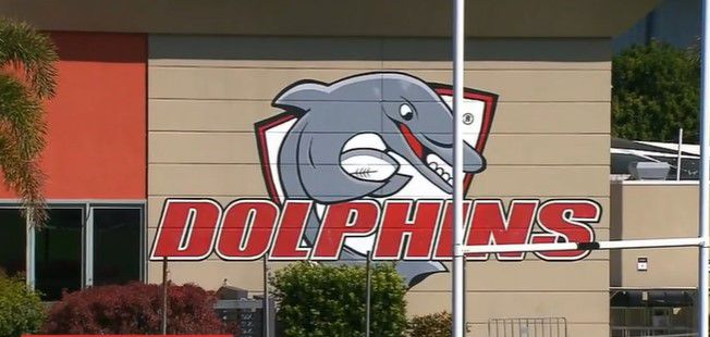 The Dolphins base in Redcliffe.