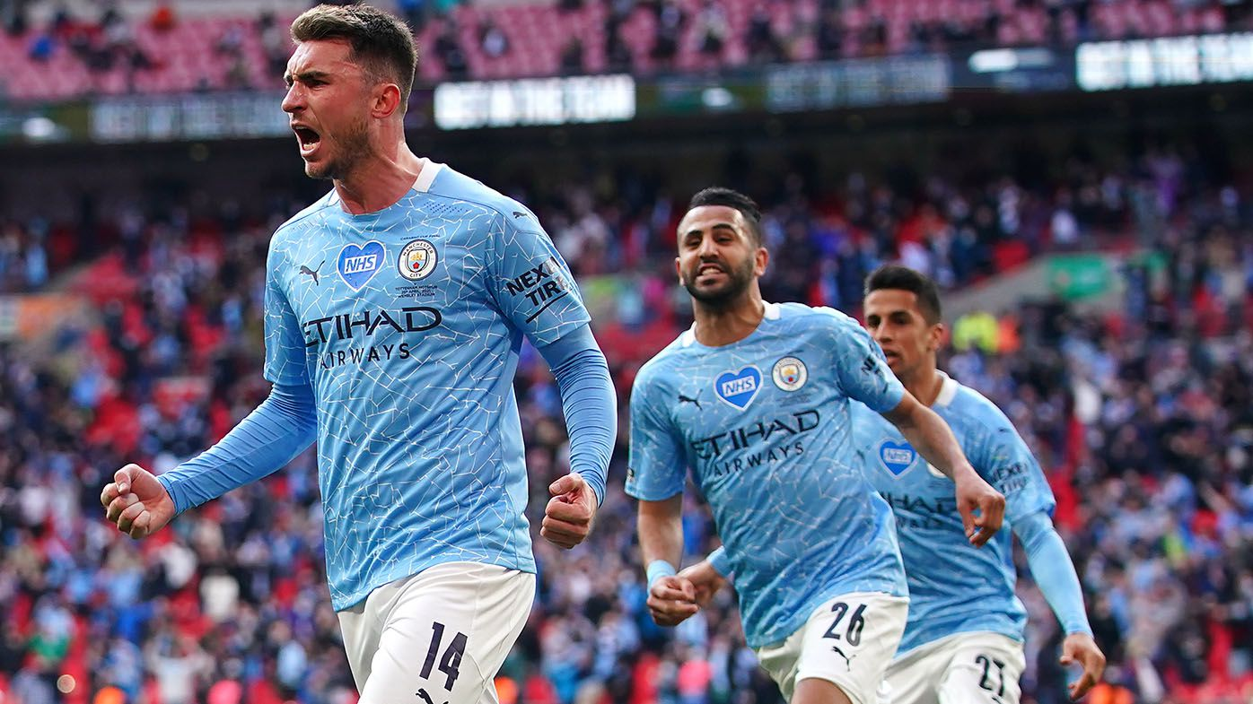 Manchester City win League Cup final 1-0 over Tottenham with Aymeric Laporte goal