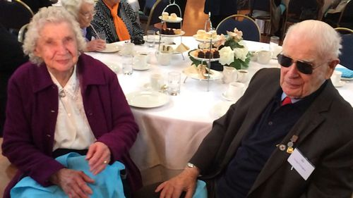 Joyce and George Prolongeau have been married for more than 70 years. (Madeline Slattery)