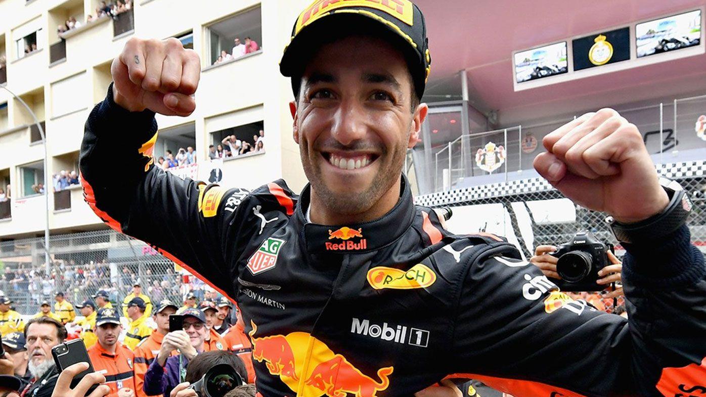 Australia's Daniel Ricciardo overcomes power loss to win Monaco Grand Prix