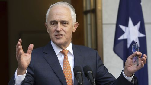 Malcolm Turnbull has denied calling for the sackings of ABC staffers.