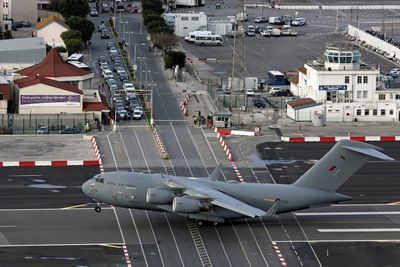 <strong>Gibraltar: Gibralter International Airport</strong>