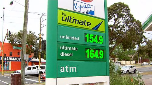 The new normal: Motorists have been warned high petrol prices aren't expected to budge.
