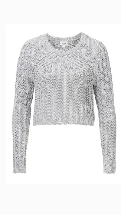 "<a _tmplitem=""2"" href=""http://www.seedheritage.com/knits-sweaters/knitted-crop-sweater/w1/i12386313_1001331/""> Knitted Crop Sweater, $99.95, Seed</a>"