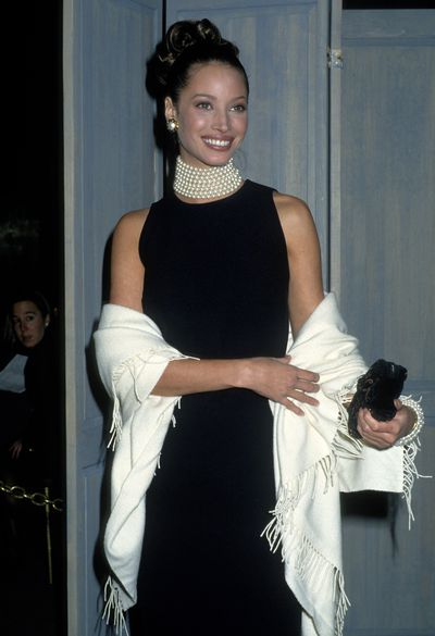 Supermodel extraordinaire Christy Turlington, 1992.