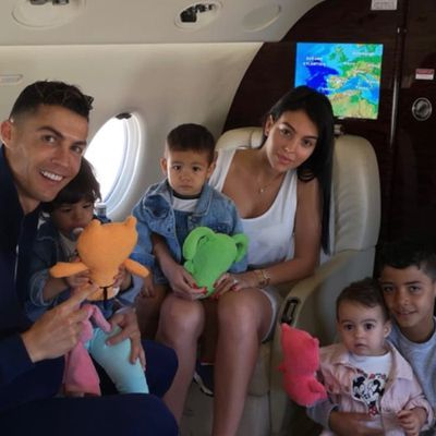 Cristiano Ronaldo: 4 kids