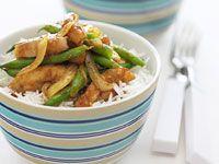 Chicken and bean madras