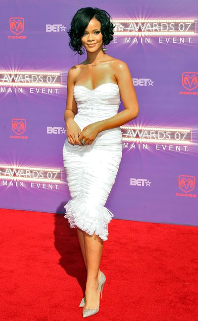 Rihanna in Hervé Legerat the 2007 BET Awards