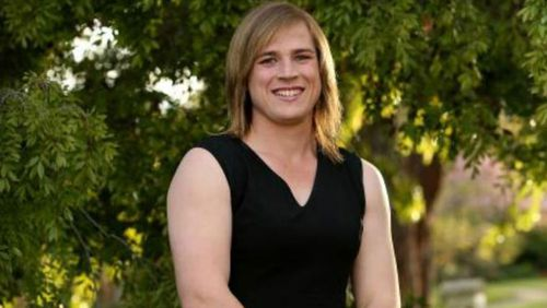Hannah Mouncey has been cleared to play in local women's leagues.