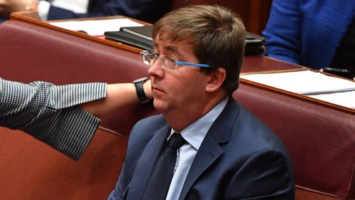 Former assistant minister James McGrath confirmed he has signed the petition and that he had also insisted on resigning from the ministry.