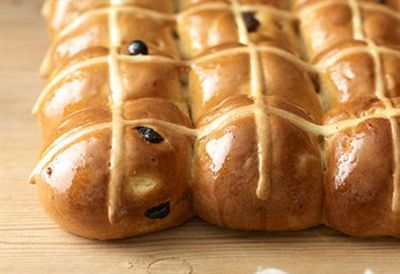 """<a href="""" /recipes/other/8349320/perfect-hot-cross-buns """" target=""""_top"""" draggable=""""false"""">Perfect hot cross buns</a>"""