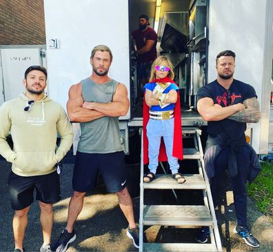 Chris Hemsworth, behind the scenes, Thor: Love and Thunder