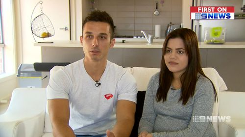 The Melbourne couple said they were shocked by the discovery.
