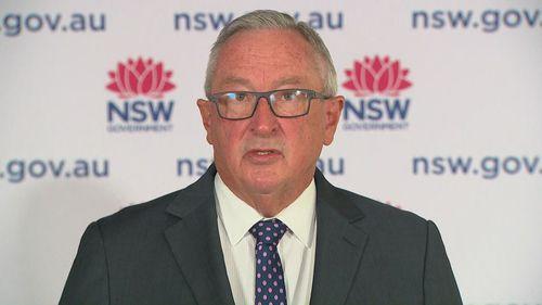 NSW Health Minister Brad Hazzard