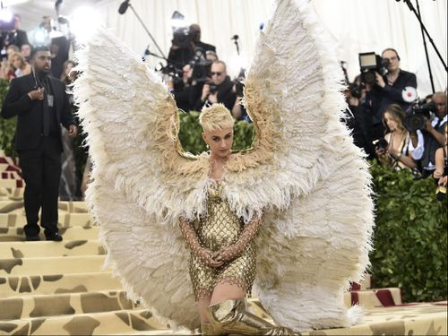 Katy Perry at the Met Gala in May. Picture: AAP