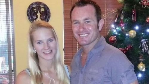 Breeana Robinson's partner Dan Shearin was jailed for harassing her before she died. (9NEWS)
