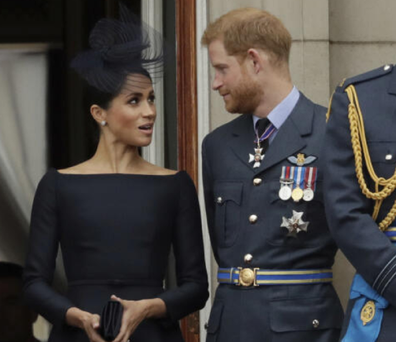 Harry and Meghan palace