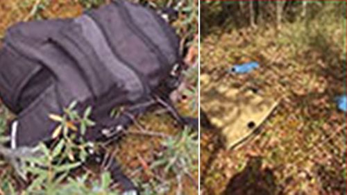 Police found Kam Mcleod's backpack during the manhunt through Manitoba.