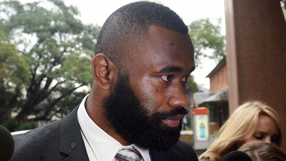 Parramatta winger Semi Radradra is due back in court to face domestic violence charges. (AAP)
