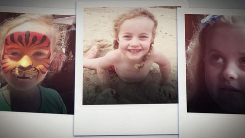 Eight-year-old Rosie Andersen had never so much as had a cold before when she fell ill. (60 Minutes)
