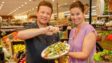 Jamie Oliver partners with Woolworths