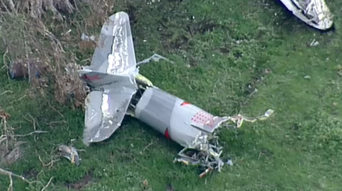 The cause of the crash is unknown.