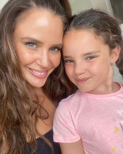 Jodi Gordon and her daughter Aleeia