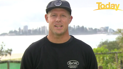 Mick Fanning has urged Australians to ask for help if they're struggling.