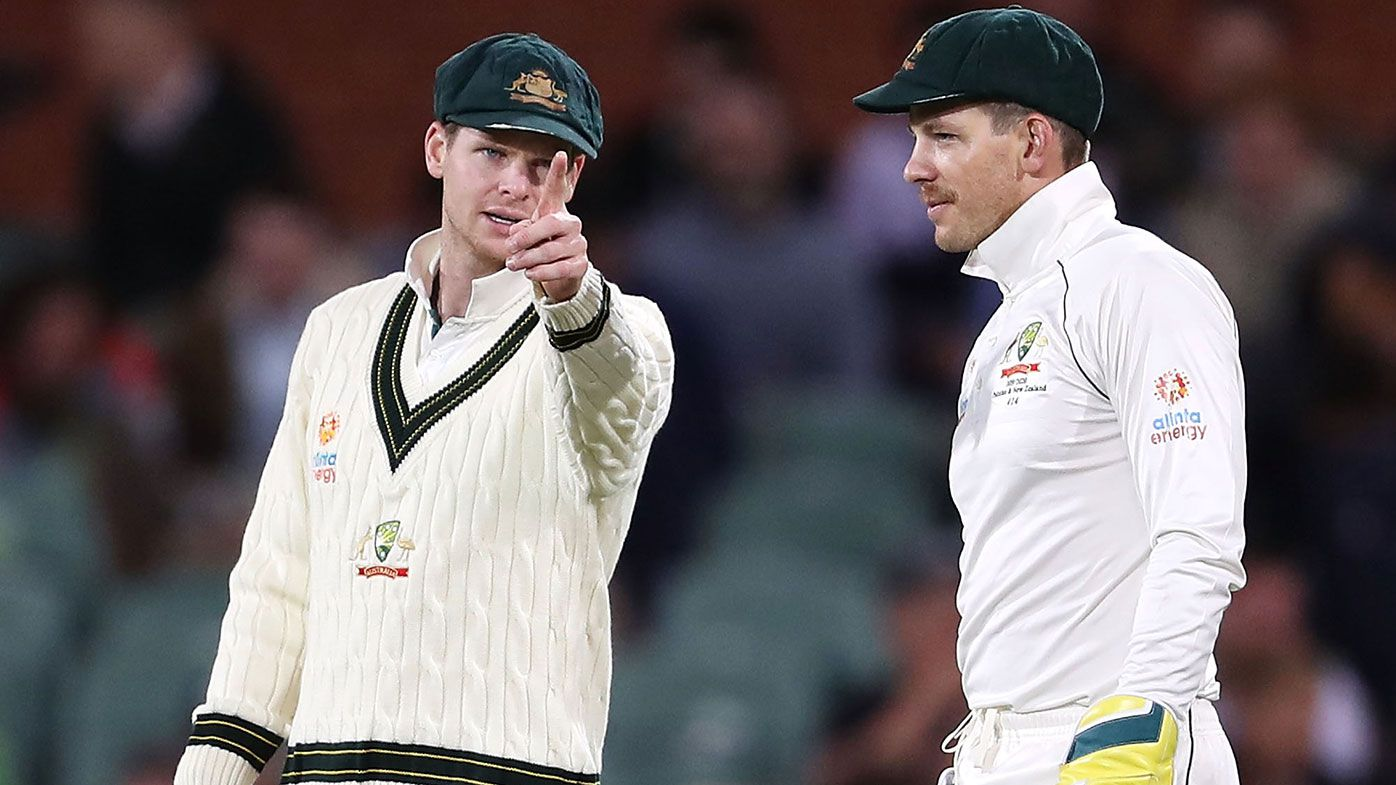 Steve Smith and Tim Paine.