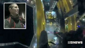 Footage of Frenchman's Sydney BASE jump released