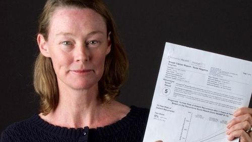 Naomi Raftery needed to use money saved for a house deposit in order to pay for a genomic breast cancer test.