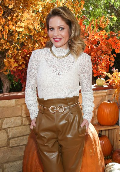 Candace Cameron Bure, Hallmark Channel's Home & Family, Universal Studios Hollywood, October 21, 2019, Universal City, California